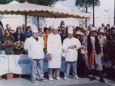 La Sagra della Seppia e lo chef Farabegoli